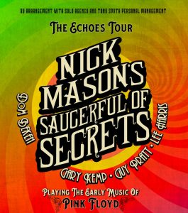 Nick Mason's – Saucerful of Secrets